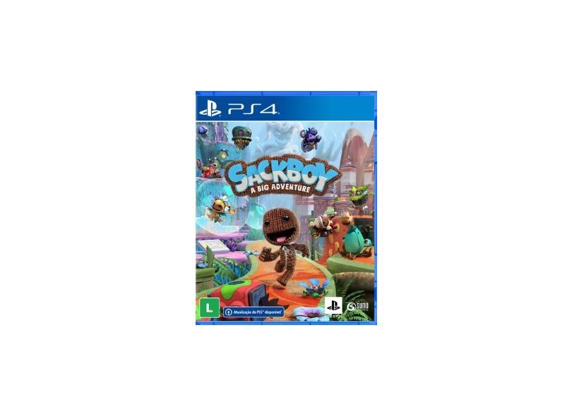 Pré-venda Jogo Sackboy - Uma Grande Aventura PS4 Sumo