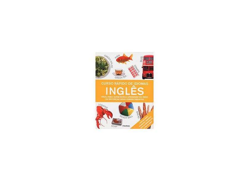 Curso Rápido De Idiomas. Inglês (+ CD) - Capa Dura - 9788579144592