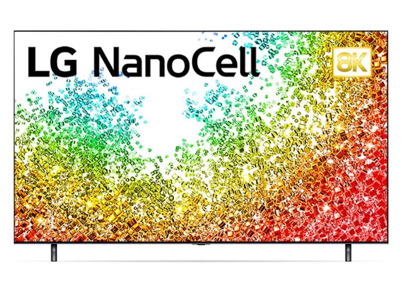 """Smart TV TV Nano Cristal 55 """" LG ThinQ AI 8K HDR 55NANO95SPA 4 HDMI"""