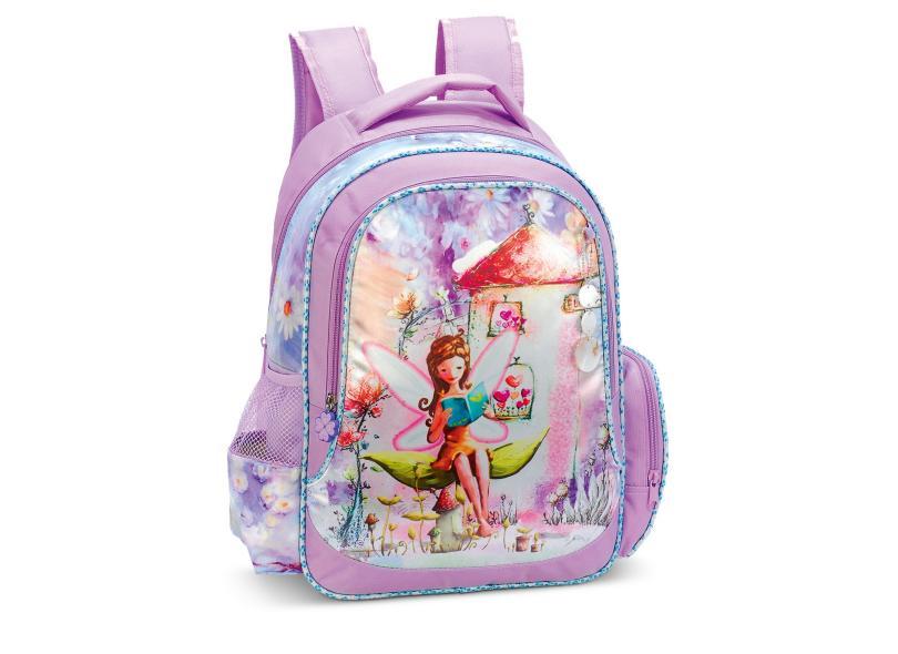 Mochila Escolar LS Flowe Fairy MO3087