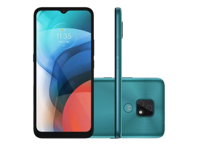 Smartphone Motorola Moto E 7 XT2095-1 32GB 2 Chips Android 10