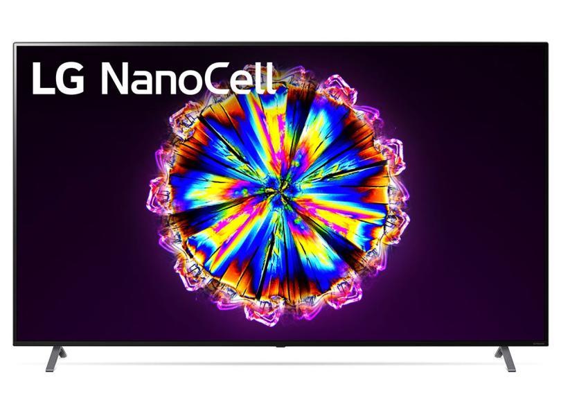 """Smart TV TV Nano Cristal 86 """" LG ThinQ AI 4K 86NANO90SNA 4 HDMI"""