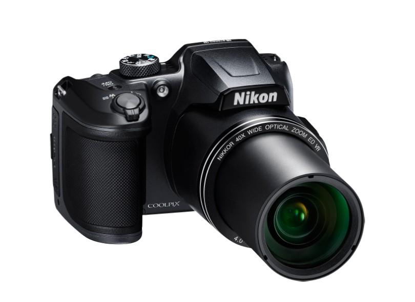 Câmera Digital Semiprofissional Nikon Coolpix 16 MP Full HD B500