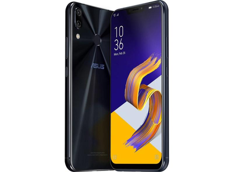 Smartphone Asus Zenfone 5Z ZS620KL 64GB 12.0 MP 2 Chips Android 8.0 (Oreo) 3G 4G Wi-Fi