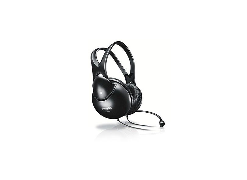 Headset com Microfone Controle de Volume do Microfone SHM1900/00 Philips