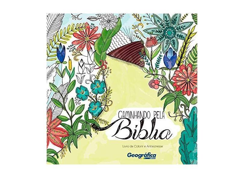 Caminhando Pela Bíblia - Livro de Colorir e Antiestresse - Rolim, Agatha - 7897185853612