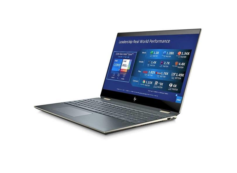 """Notebook Conversível HP Intel Core i7 1165G7 11ª Geração 16.0 GB de RAM 512.0 GB 15.0 """" 4K Windows 10 Spectre x360"""