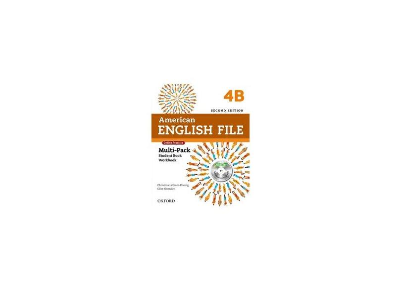 American English File 4 - Multi-Pack B - Second Edition - Christina Latham-koenig; Clive Oxenden - 9780194776295