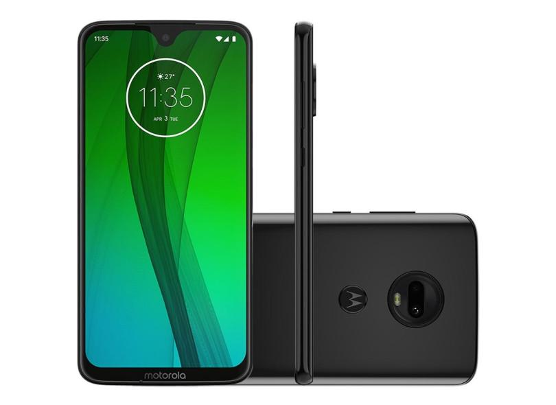 Smartphone Motorola Moto G G7 XT1962-4 64GB Qualcomm Snapdragon 632 12,0 MP 2 Chips Android 9.0 (Pie) 3G 4G Wi-Fi