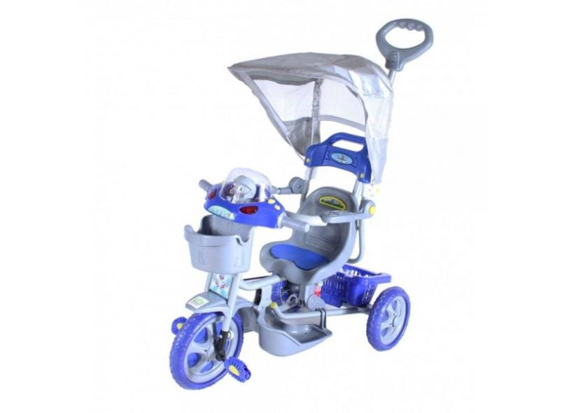 Triciclo com Pedal Bel Fix Capota E.T