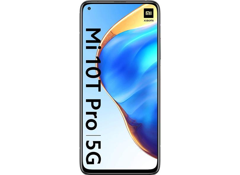 Smartphone Xiaomi Mi 10T Pro 5G 128GB Câmera Tripla Android 11