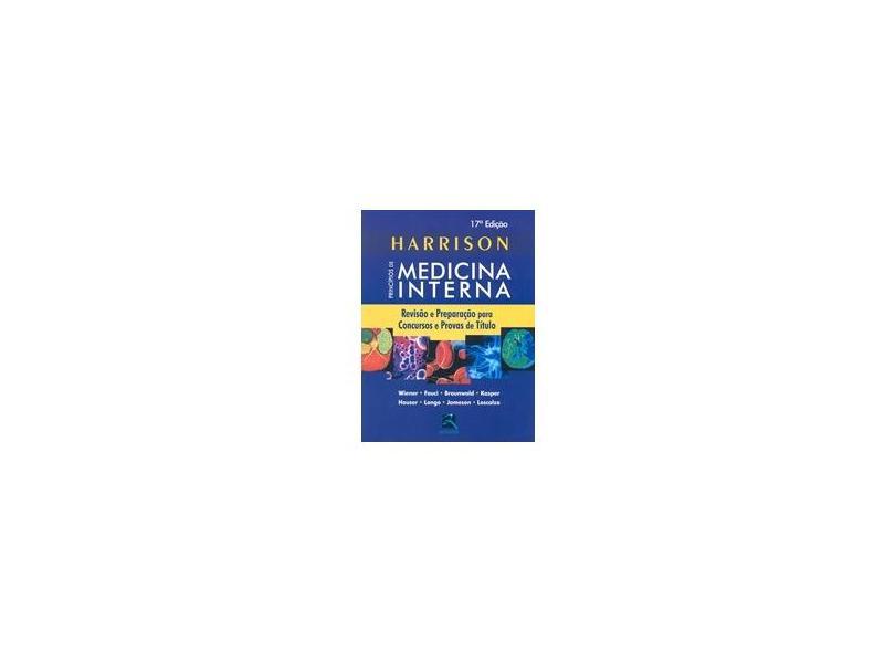 Harrison. Principios De Medicina Interna - Capa Comum - 9788537204337