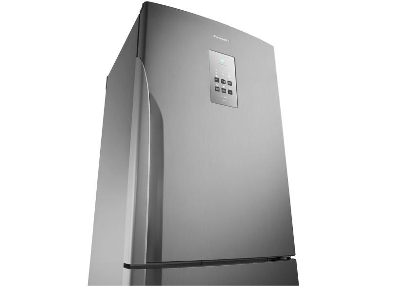 Geladeira Panasonic Econavi Frost Free Inverse 425 Litros NR-BB53PV3X