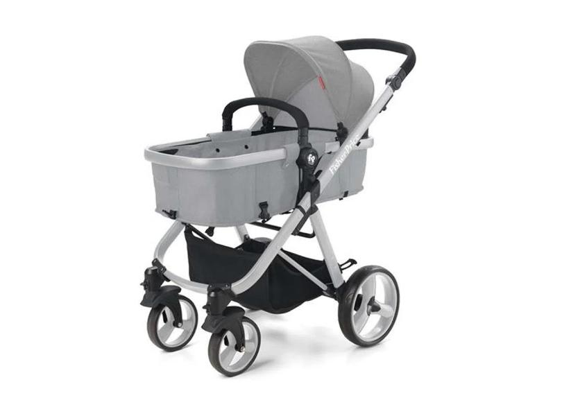Carrinho de Bebê Travel System com Bebê Conforto Fisher Price Hero TS