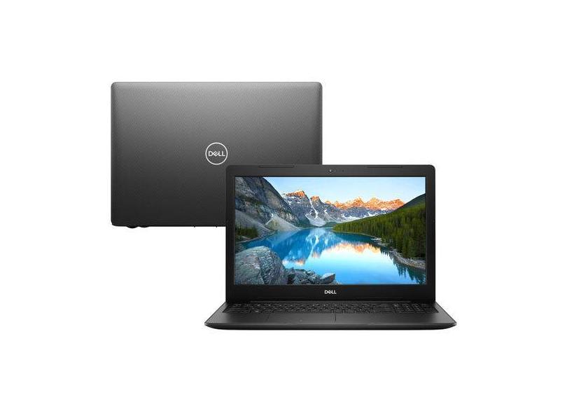 """Notebook Dell Inspiron 3000 Intel Core i5 8265U 8ª Geração 8 GB de RAM 2048 GB 15.6 """" Radeon 520 Windows 10 I15-3583-A20"""