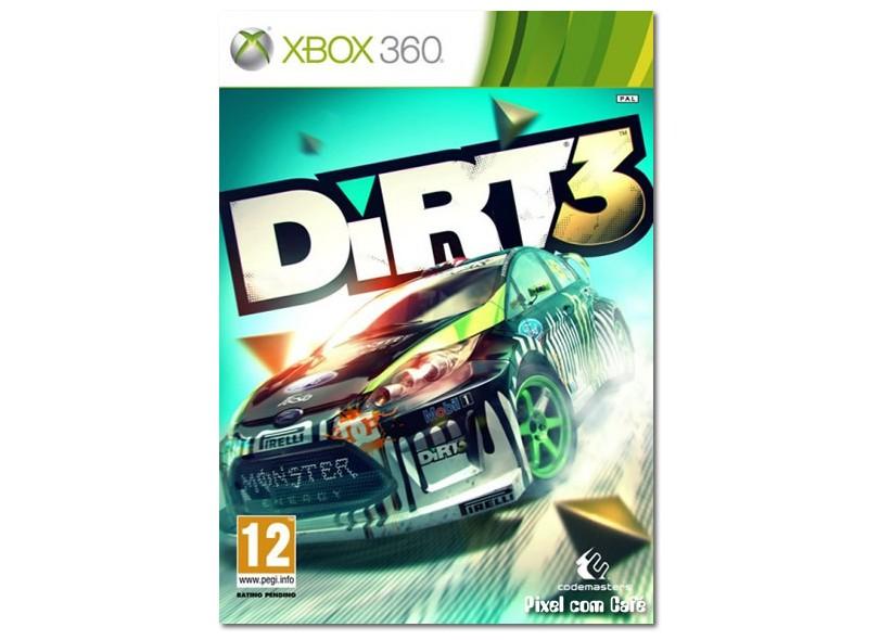 Jogo Dirt 3 THQ Xbox 360