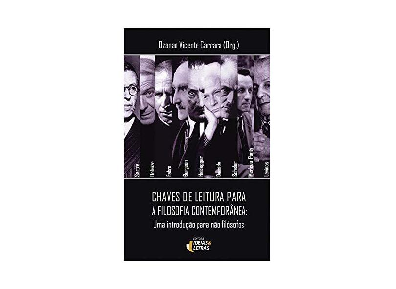 Chaves de Leitura Para A Filosofia Comtemporânea - Carrara, Ozanan Vicente - 9788565893848