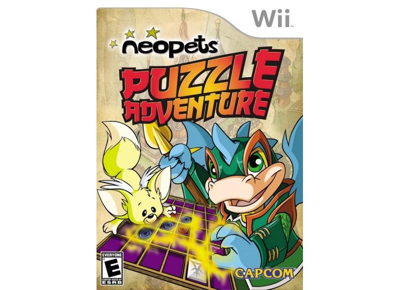 Jogo Neopets Puzzle Adventure Capcom Wii