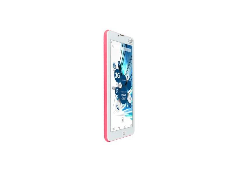 """Tablet DL Eletrônicos 3G 8.0 GB LCD 7 """" Android 5.1 (Lollipop) SocialPhone 700"""