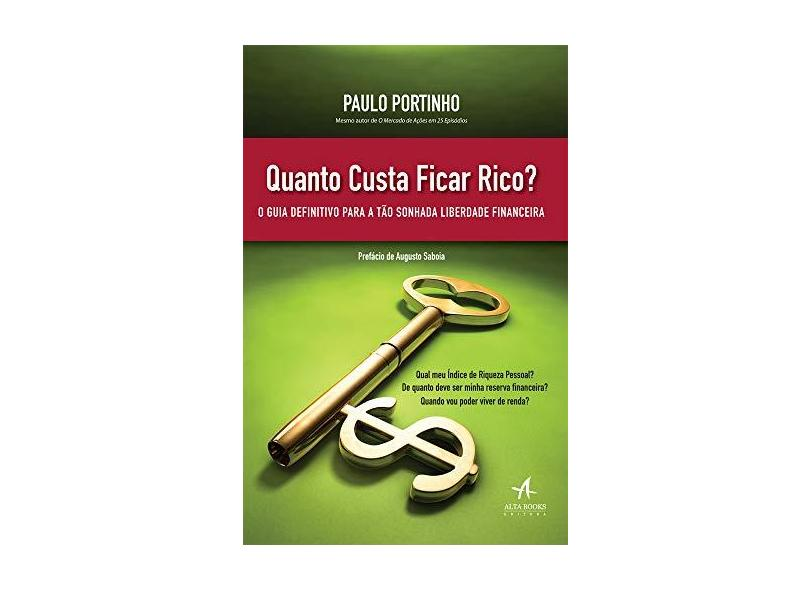 Quanto Custa Ficar Rico? O Guia Definitivo Para a Tão Sonhada Liberdade Financeira - Paulo Portinho - 9788550801124