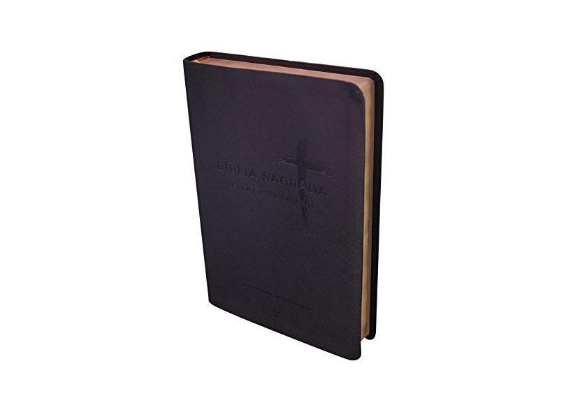 Bíblia Sagrada NVI - Letra Extra Gigante - Vários Autores - 9788538303220