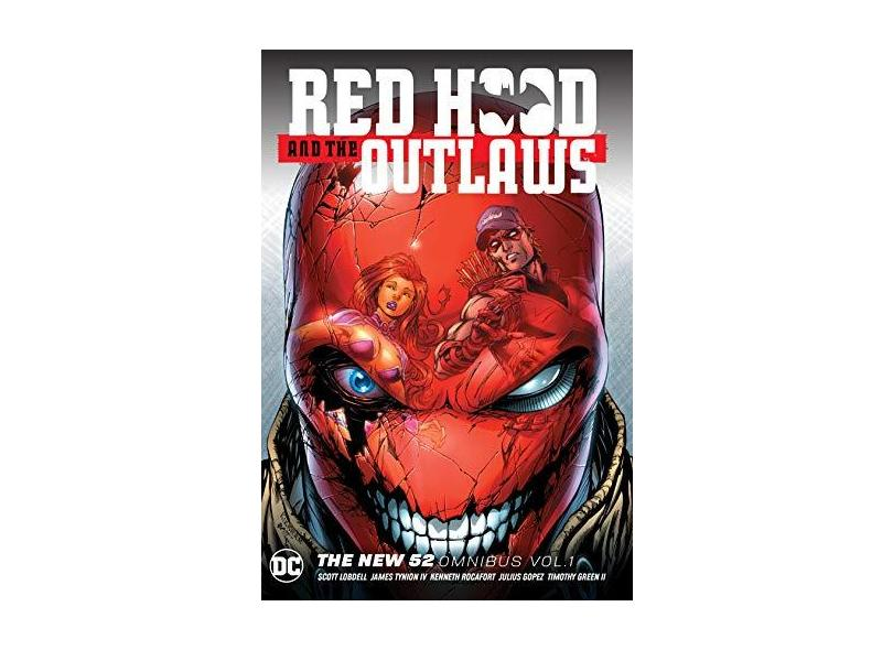 Red Hood And The Outlaws: The New 52 Omnibus Vol. 1 - Lobdell,scott - 9781401284664