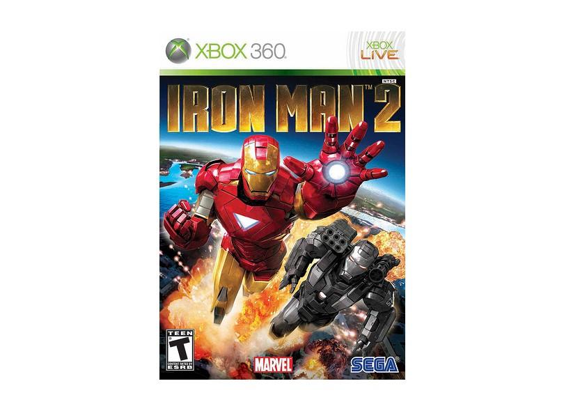 Jogo Iron Man 2 Sega Xbox 360
