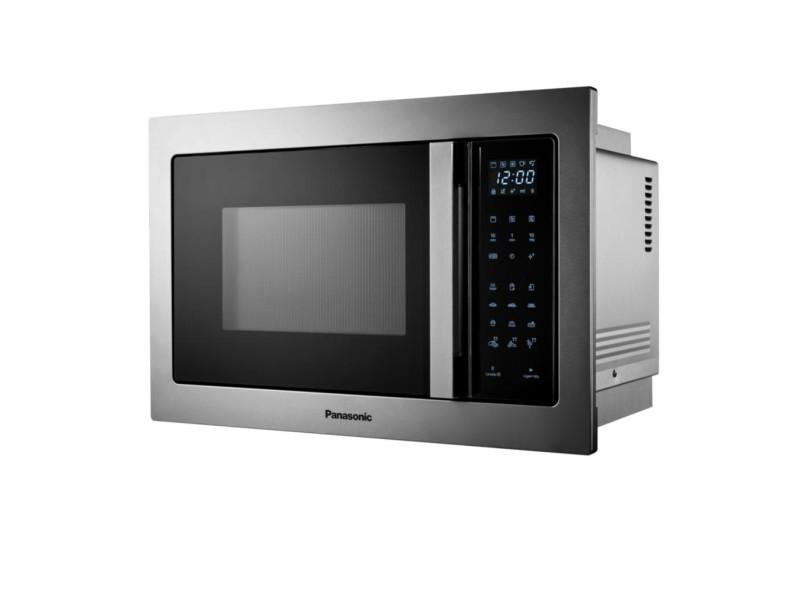 Microondas de Embutir Panasonic 28 l NN-GB686SRUK Inox