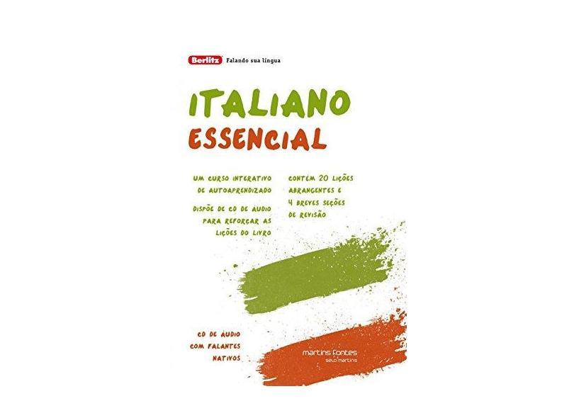 Italiano Essencial - Capa Comum - 9788580631197