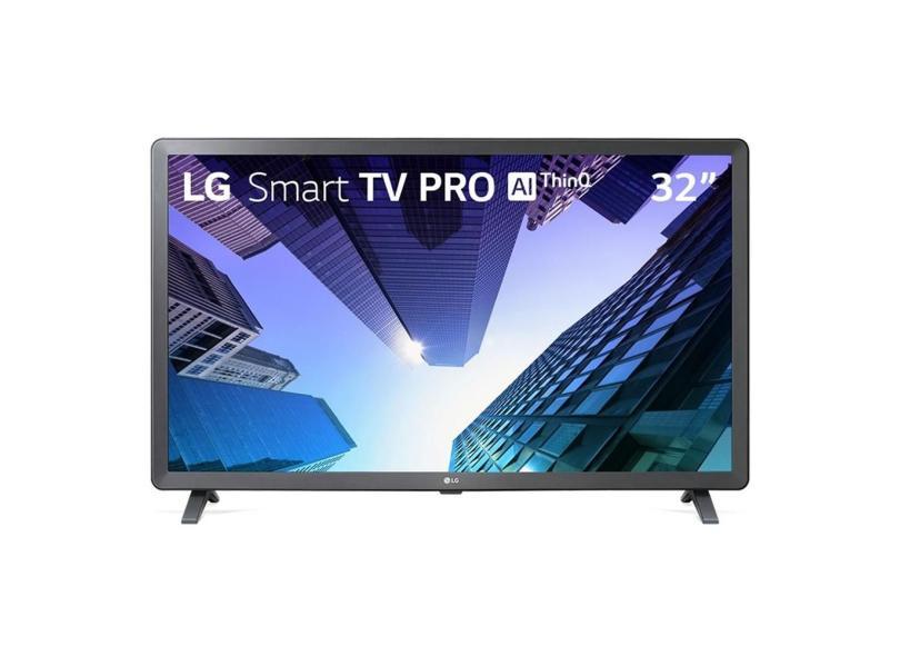 "Smart TV TV LED 32 "" LG ThinQ AI Netflix 32LM631C0SB 3 HDMI"