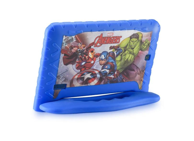 """Tablet Multilaser 16.0 GB IPS 7.0 """" Android 8.0 (Oreo) 2.0 MP Disney Vingadores Plus NB307"""