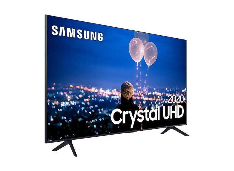 "Smart TV TV LED 82.0 "" Samsung Série 8 4K HDR UN82TU8000GXZD 3 HDMI"