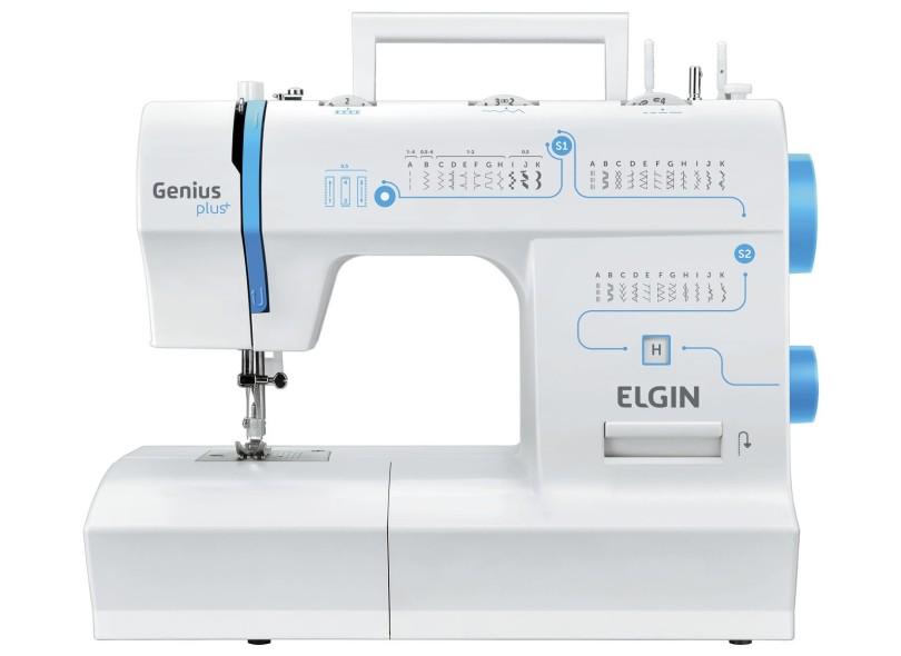 Máquina de Costura Doméstica Genius Plus JX-4035 - Elgin