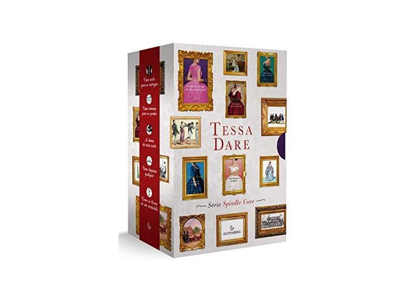 Box Tessa Dare - Série Spindle Cove - Tessa Dare - 9788582355367