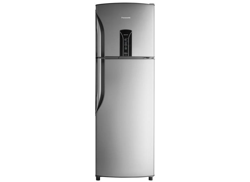 Geladeira Panasonic [RE]Generation Frost Free Duplex 387 l Escovado NR-BT42BV1X