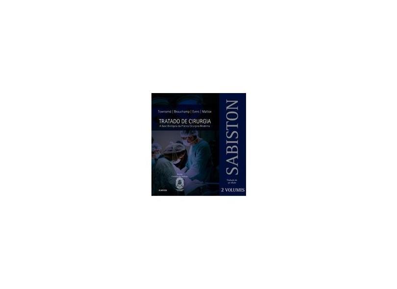 Sabiston - Tratado de Cirurgia - Vol. 2 - Vários - 9788535257670