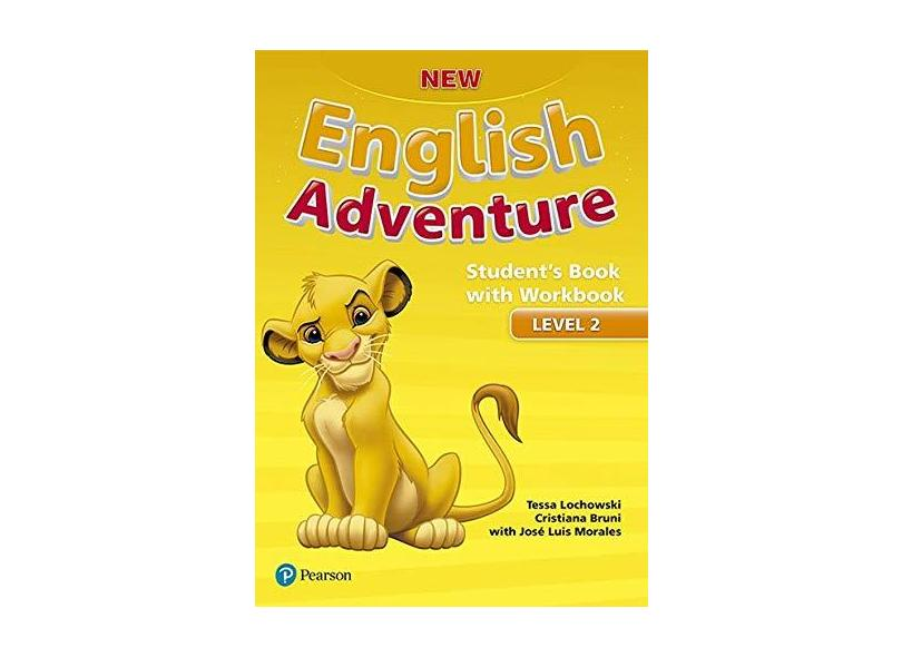 New English Adventure: Students Book With Workbook - Level 2 - Pack do Aluno - Tessa Lochowski - 9781292181974