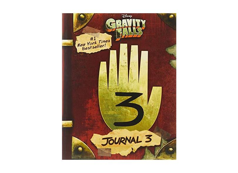 Gravity Falls: Journal 3 - Alex Hirsch - 9781484746691