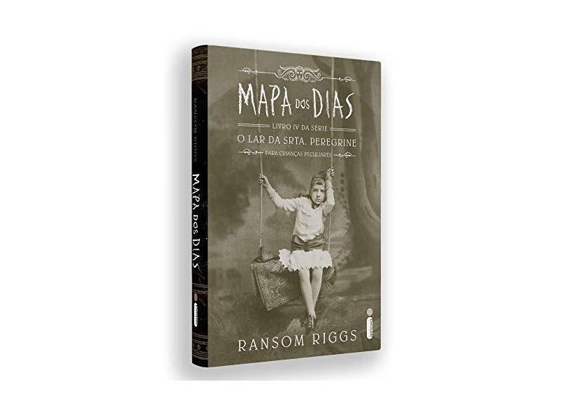 Mapa dos dias: Série O lar da srta. Peregrine para crianças peculiares (Vol.4) + brinde - Ransom Riggs - 9788551003671