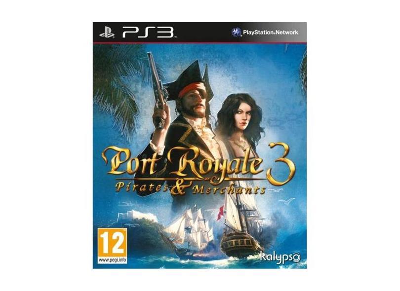 Jogo Port Royale Pirates And Merchants PlayStation 3 Kalypso Media
