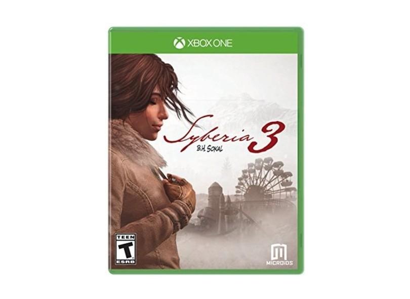 Jogo Syberia 3 Xbox One Microids