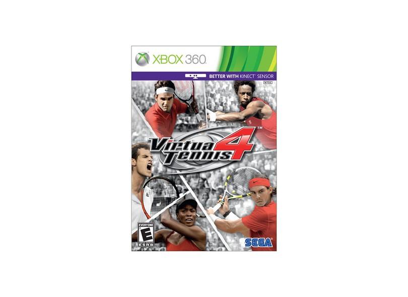 Jogo Virtua Tennis 4 Sega Xbox 360