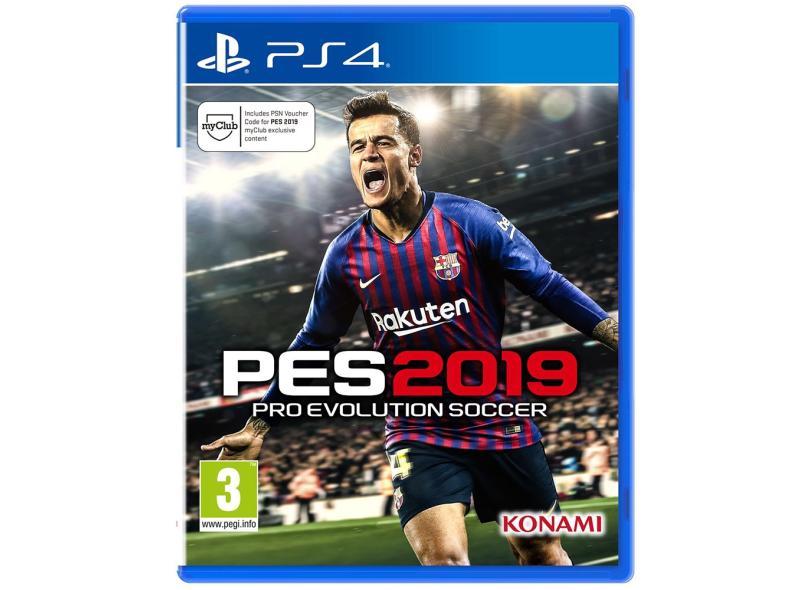 Jogo Pro Evolution Soccer 2019 PS4 Konami