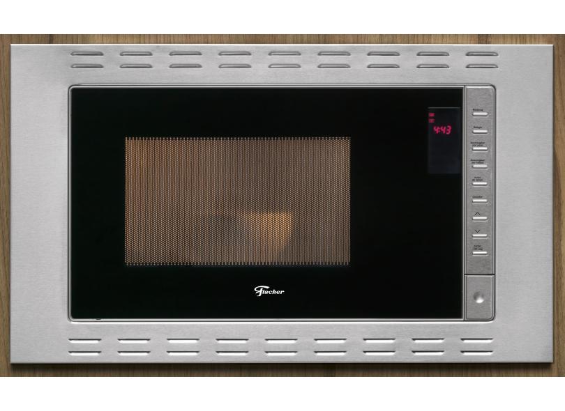 Micro-ondas de Embutir Fischer 25 l Fit Line 25873-5617 Inox