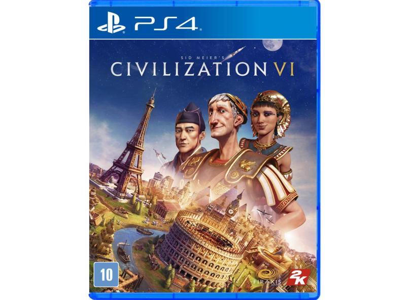 Jogo Sid Meier's Civilization VI PS4 2K