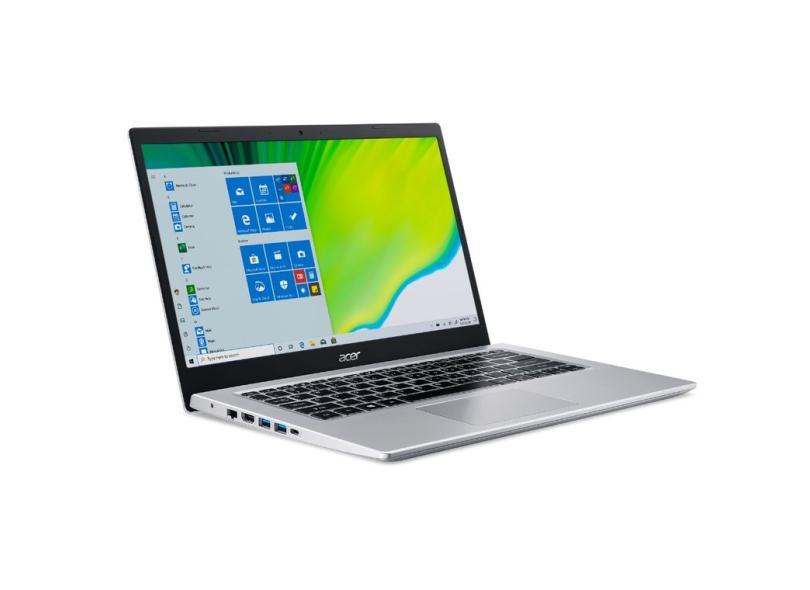 """Notebook Acer Aspire 3 Intel Core i5 1035G1 10ª Geração 8.0 GB de RAM 256.0 GB 14.0 """" Windows 10 A514-53-59QJ"""