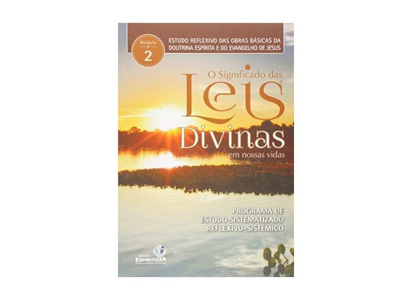 O Significado das Leis Divinas em Nossas Vidas. Estudos Reflexivos - Alírio De Cerqueira Filho - 9788565109659
