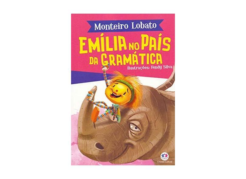 Emília no país da gramática - Monteiro Lobato - 9788538087656