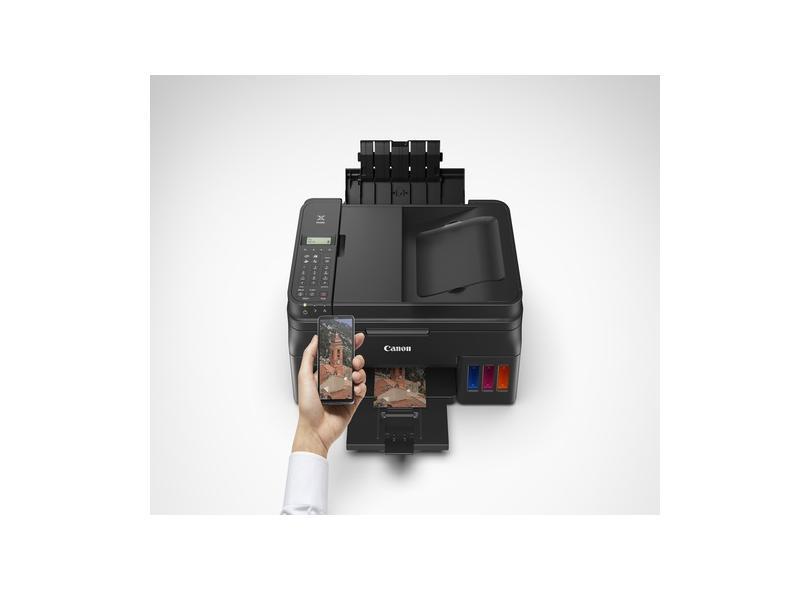 Multifuncional Canon Mega Tank G4110 Tanque de Tinta Colorida Sem Fio