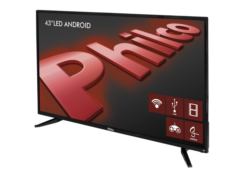 "Smart TV TV LED 43"" Philco Full HD PH43N91DSGWA"